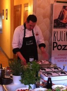 Marcin Michalski- szef kuchni Pastela