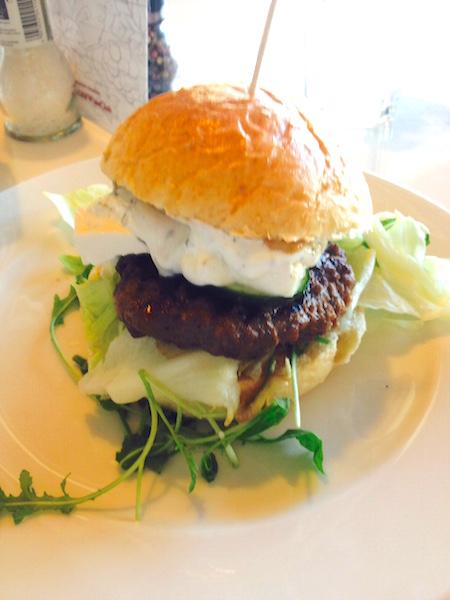 Burger jagnięcy, Konfitura, Poznań