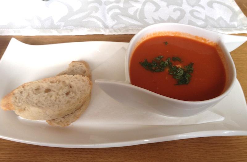 Zupa krem pomidorowa, Restauracja Umami, Poznań