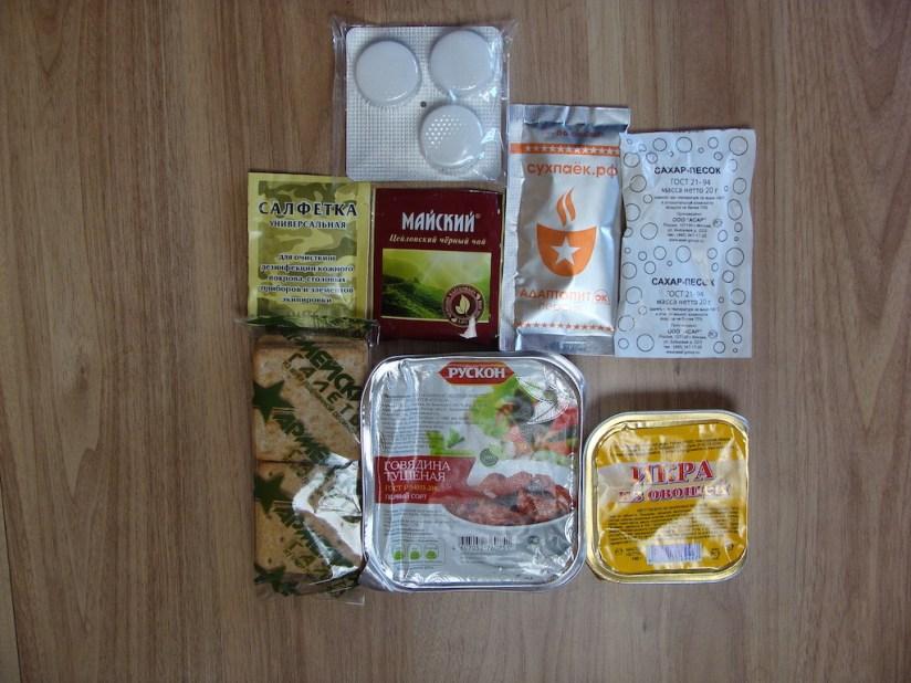 Racja armii Rosji menu 5 obiad