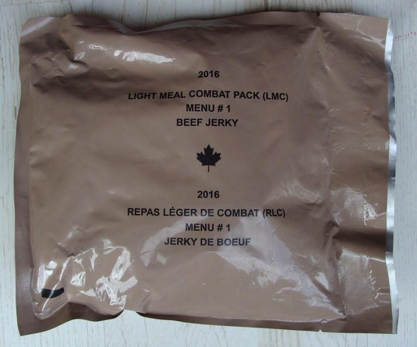 Kanadyjska racja lekka menu 1