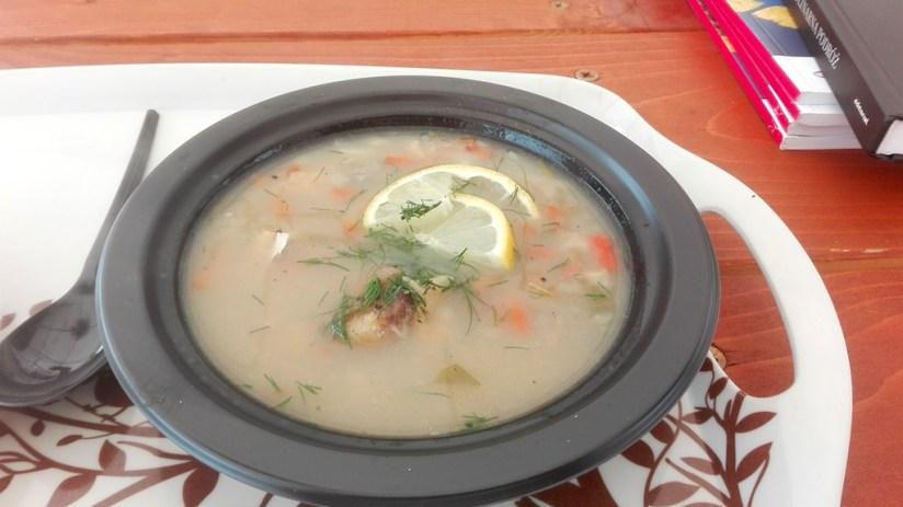 Eko Snails Garden - zupa rybna ze ślimakami