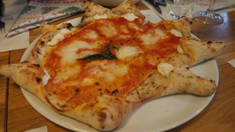 Forni Rossi Poznań - pizza gurme - z ricottą