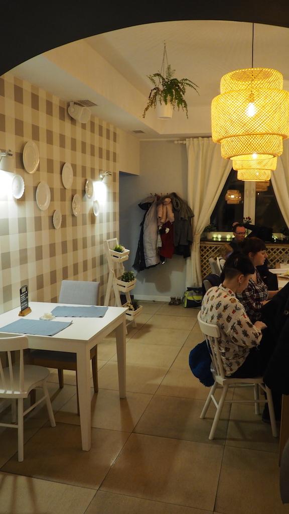 Restauracja Brocci Poznań - wnętrze