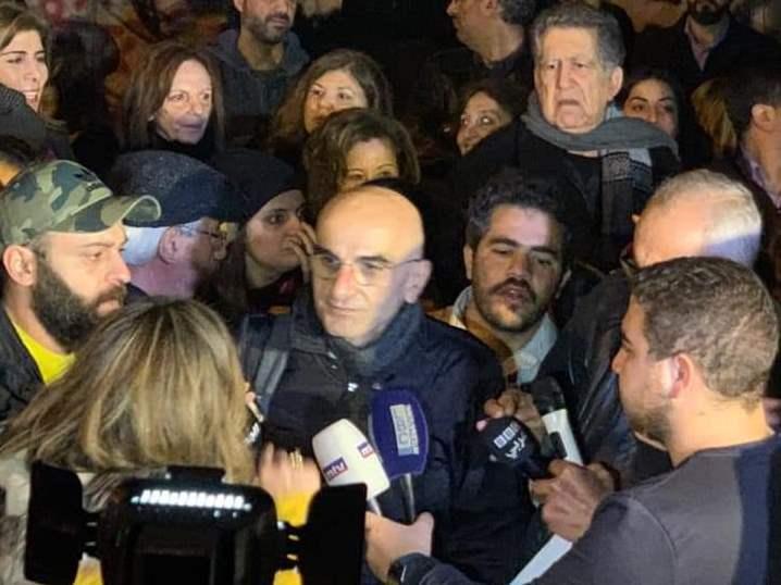 زبيب شرح في مؤتمر صحافي خلفيات الاعتداء عليه