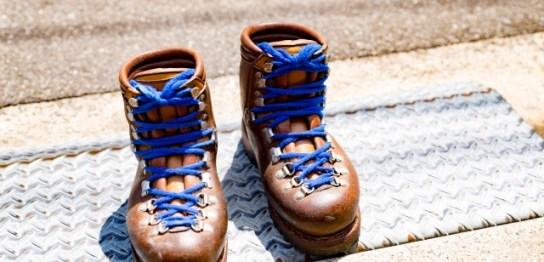 登山靴 メンテナンス