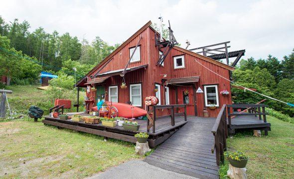 Log Cottage Himawari Nakafurano Tourism Association