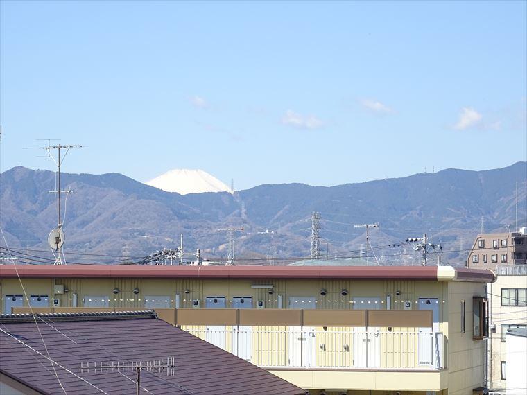愛甲石田駅徒歩3分最上階角部屋バルコニーからは富士山が望める分譲賃貸マンション【レクセル愛甲石田】