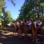 南チロル地方 ドロミテ街道で乗馬祭り Oswald von Wolkenstein-Ritt