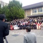 京都大学大学院の修了式