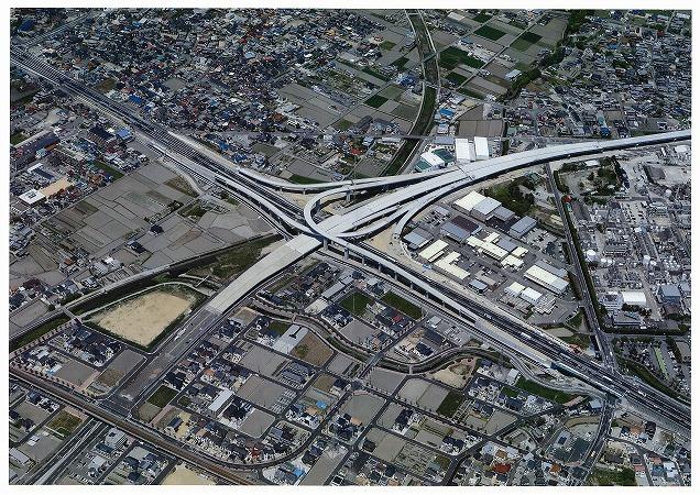 加古川小野線東播磨南北道路航空写真