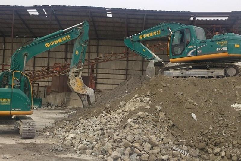 中谷建材株式会社 コンクリートリサイクル