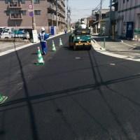 道路舗装工事 加古川市西神吉町岸