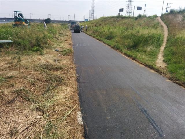 加古川河川敷自転車道 (2)
