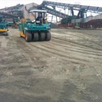天川工場内舗装施工