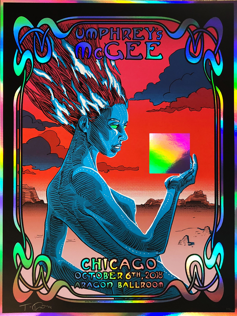 umphrey s mcgee chicago foil by doyle on sale info nakatomi inc