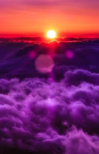clouds ans sun