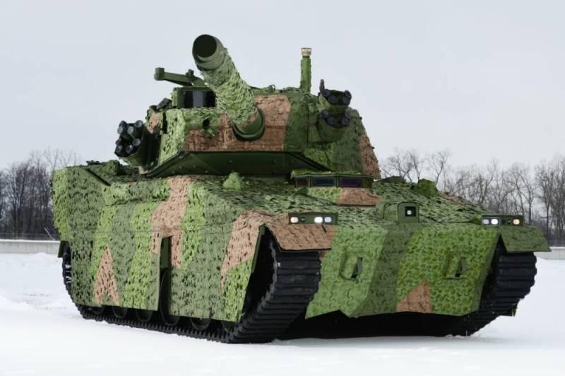 В России начались госиспытания легкого танка «Спрут-СДМ1»