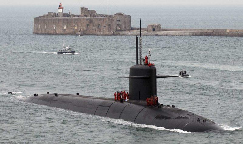Испытания новой французской баллистической ракеты для субмарины типа Triomphant показали на видео