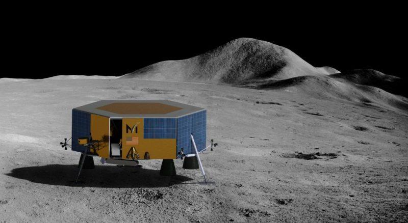Запуск американского коммерческого модуля на Луну перенесли почти на год