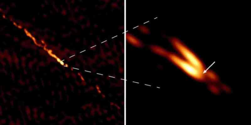 Астрономы получили рекордно четкое изображение плазменных струй в окрестностях сверхмассивной черной дыры