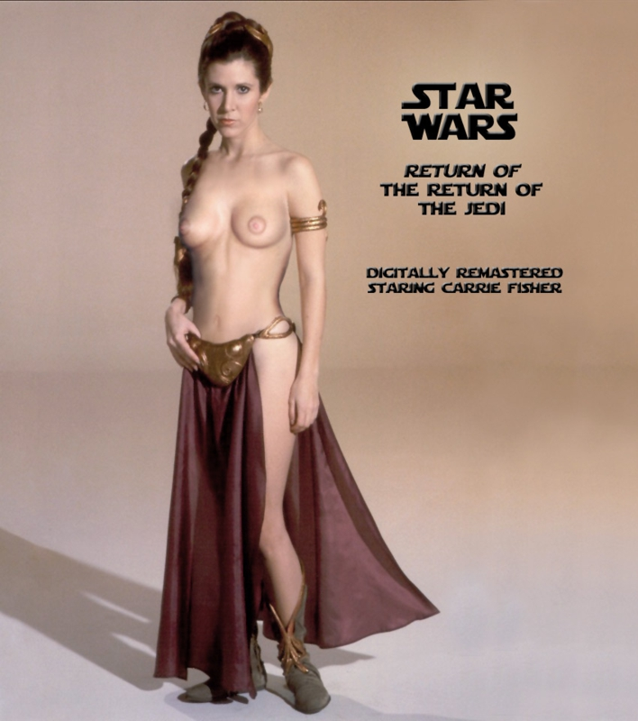 Nackt carie fisher Carrie Fisher