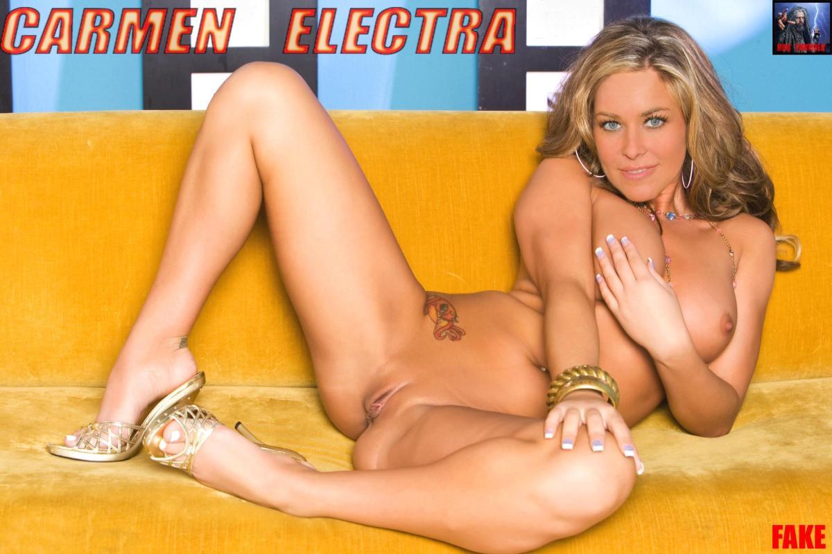 Carmen electra fake galleries