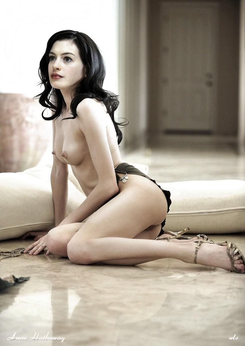 anne hathaway nude fake
