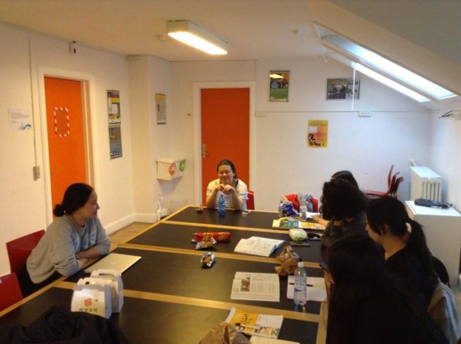 덴마크 입양인 한국어 교실 마지막 수업 (사진: 김희욱)