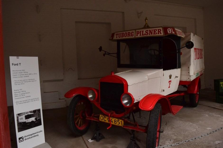 1922년부터 오후스(Århus) 지역으로 맥주를 실어나르는데 쓰인 칼스버그 짐차 (사진: 탄야 닐슨)