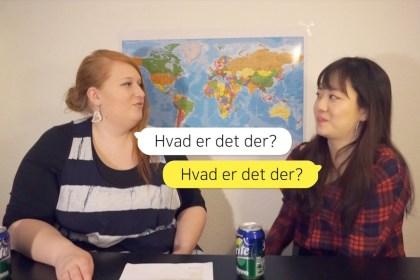 [덴마크어 배우기] 9강 이게 뭐예요?