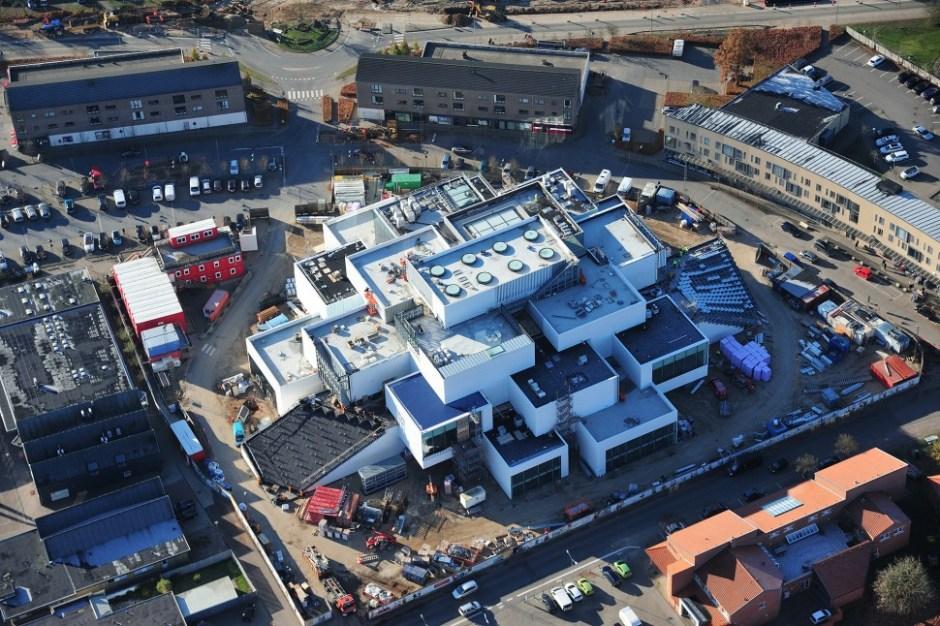 레고 새 본사 레고하우스 2016년 12월 공사 현장 (레고 제공)