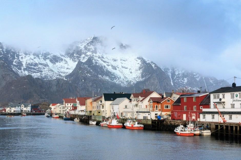 Henningsvaer, Lofoten, Norway (출처: 플리커 CC BY Martin de Lusenet)