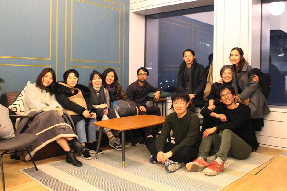 한국형 덴마크 인생학교 자유학교 운영진과 설명회 참석자 (사진: 강나영)