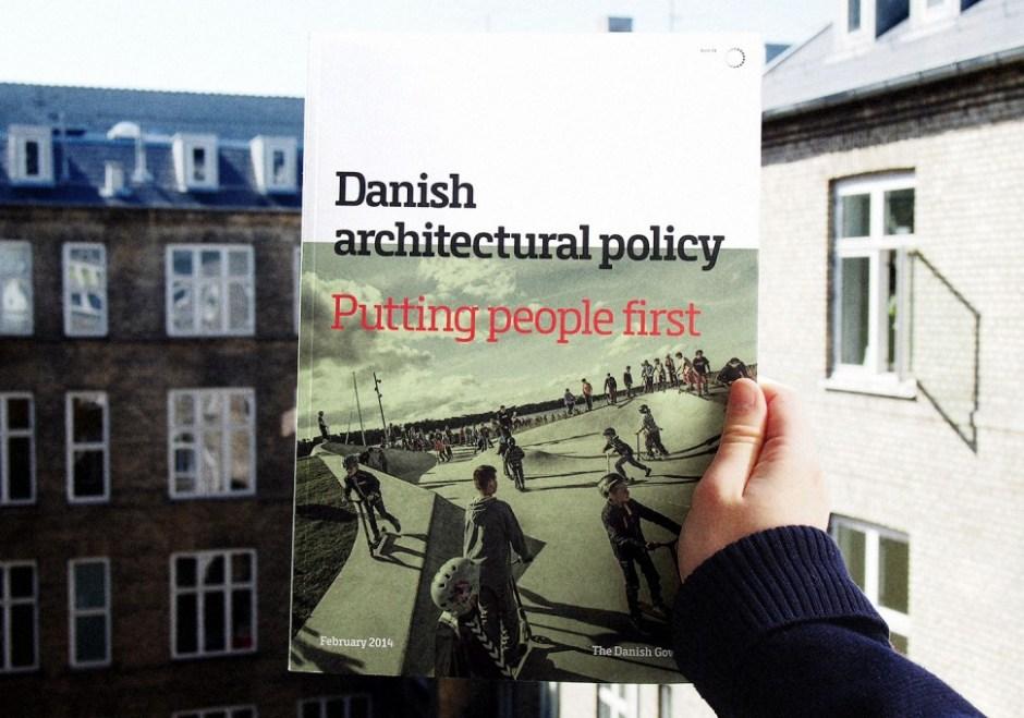 2014년 덴마크 정부가 얀 겔 방법론을 바탕 삼아 내놓은 '사람 제일' 건축 정책 (Gehl 제공)