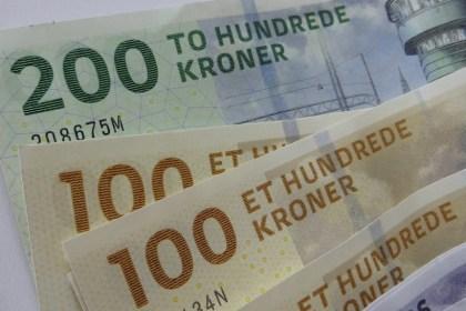 덴마크 지폐(출처: 플리커 CC BY-SA Howard Lake)