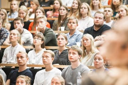수업 듣는 덴마크 학생(EVA 제공)