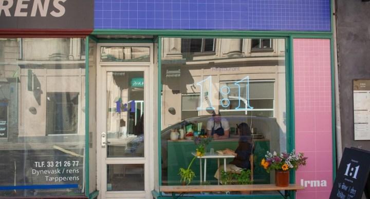 '좌석 단 1개' 세계에서 가장 작은 식당 코펜하겐에 오픈