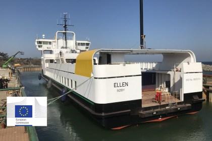 세계 최초 100% 전동 페리 '엘렌' (E-ferry 제공)
