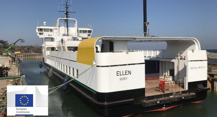 '바다 위 테슬라' 세계 최초 100% 전기 여객선 덴마크서 운항 시작