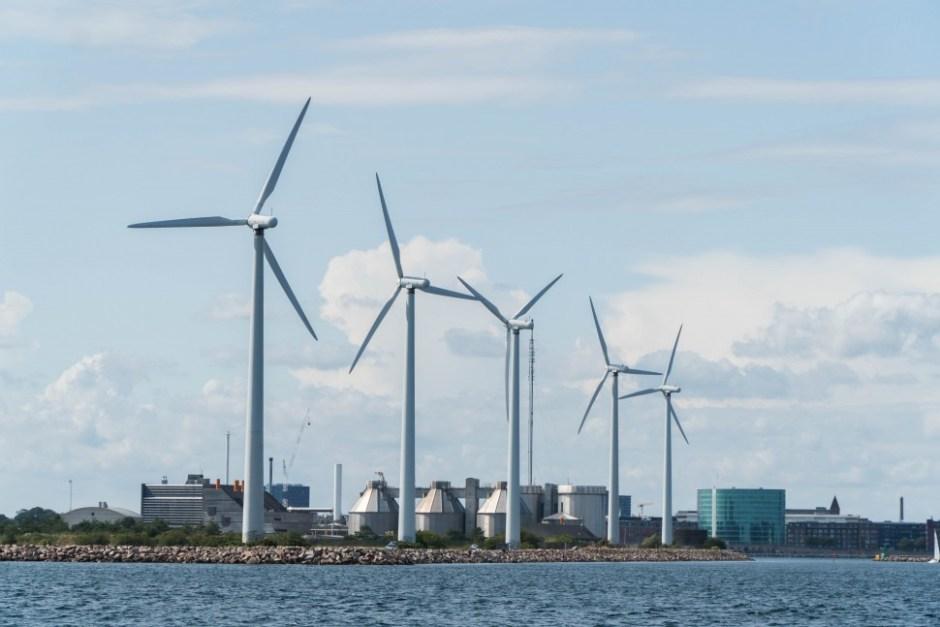 덴마크 코펜하겐 인근 미델그룬덴 풍력발전단지 (안상욱 촬영)