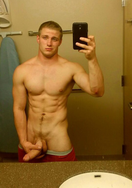 Hot Naked Male Selfies