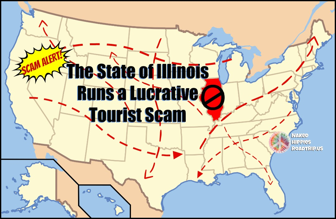 Illinois Tollway Runs a Lucrative Tourist Scam | The Hippies Way on illinois road conditions interactive map, illinois state road map, illinois real estate map, illinois turnpike map, illinois road map online, illinois tollway oasis, illinois restaurant map, illinois dot construction map, e-470 tollway map, illinois department of transportation, northwest tollway, indiana illinois road map, illinois unpaid tolls, illinois state region, illinois natural gas pipeline map, winter road conditions illinois map, illinois state map with counties and cities, northeastern illinois road map, tri-state tollway, illinois road closure map, illinois route 47 map, illinois 4th congressional district map, chicago skyway, road construction in illinois map, illinois highway names,