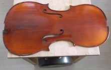 framus cello 13 top back together again