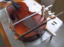 framus cello 23 repairing small split on lip