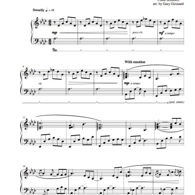 """Ave Maria"" (Schubert Version) Solo Piano Sheet Music (from Christmas Whisperings Volume 2)"
