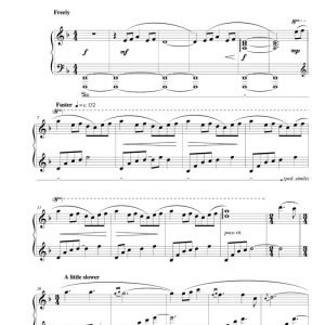 """Mountain Mist"" Solo Piano Sheet Music (from The Naked Piano Volume II)"