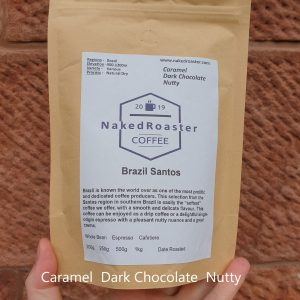 Brazil santos naked roaster coffee