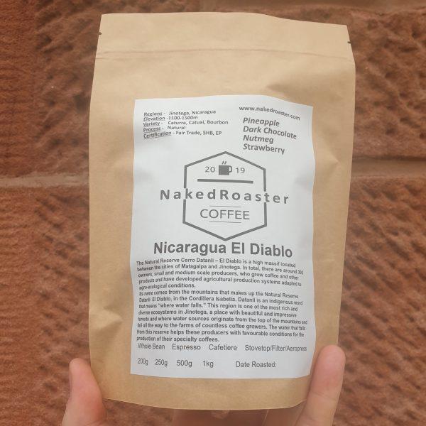 Nicaragua El Diablo Coffee