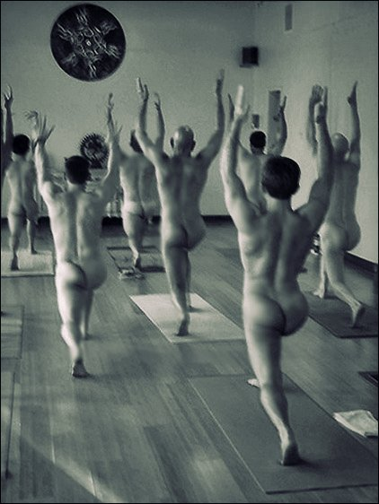 Calendar  Naked Yoga for Men